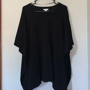 Croft & Barrow Poncho Sweater L/XL EUC
